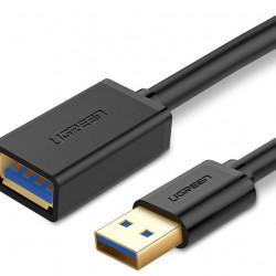 Cablu de extensie USB 3.0 UGREEN 2m - negru