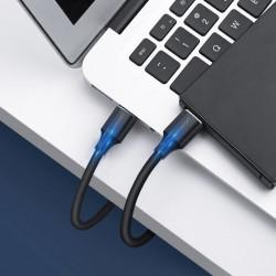 Cablu Ugreen USB 3.0 la USB 3.0 (tata-tata) - 2m negru