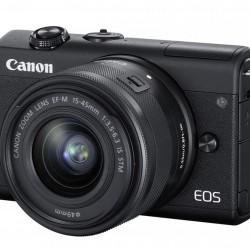 CAMERA FOTO EOS M200 BK KIT EF-M 15-45