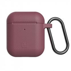 Carcasa antimicrobiana UAG U Silicone Apple AirPods rose