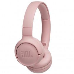 Casti audio On-ear JBL Tune 500, Wireless, Bluetooth, Pure Bass Sound, Hands-free Call, 16H, Roz