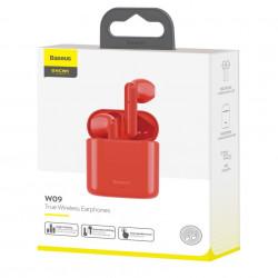 Casti Baseus Encok True Wireless W09 Red