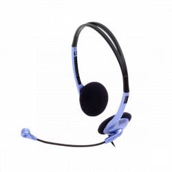 CASTI Genius HS-02B cu fir albastru