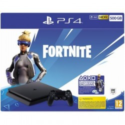 Consola PlayStation 4 Fortnite Neo Versa Bundle, 500GB, Negru
