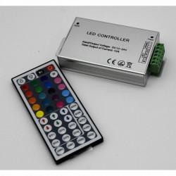 Controller banda LED RGB, 12V, 144W, telecomanda IR 44 taste