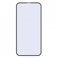 Folie de protectie Baseus 2x Sticla securizata 0.23mm Anti Blue Light cu cadru ecran complet iPhone 12 Pro / iPhone 12 Negru (SGAPIPH61P-TE01)