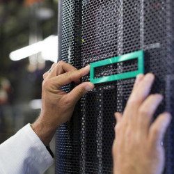HPE DL38X GEN10 SFF BOX1/2 CAGE/BACKPLAN