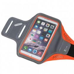 Husa banderola brat / mana pt alergat, sala, bicicleta compatibila cu telefoane cu display pana la 5.5'', Gema, portocaliu