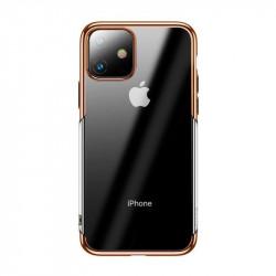Husa Baseus Shining pentru iPhone 11 - auriu