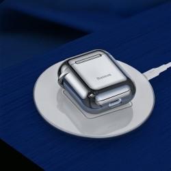 Husa protectoare din gel silica , Baseus pentru Apple Airpods , negru