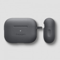 Husa protectoare Spigen Silicone Fit Apple Airpods Pro - gri