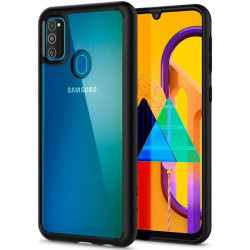 Husa Spigen Ultra Hybrid Samsung Galaxy M21 - negru