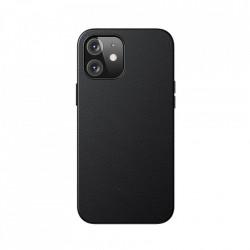 Husa telefon Baseus Magnetic Leather Case Soft PU leather Cover pentru iPhone 12 mini black (MagSafe compatible)