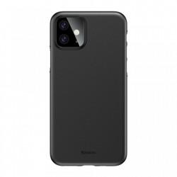 Husa telefon , Baseus Wing Ultra Subtire , 0.4 mm pentru iPhone 11 black (WIAPIPH61S-A01)