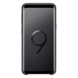 Husa telefon din silicon flexibil cu interior din material impotriva zgarieturilor , Gema Mixt pentru Samsung galaxy S9 , negru
