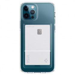 Husa telefon Spigen Crystal Slot iPhone 12/12 Pro Crystal Clear