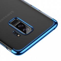 Husa telefon tip capac, Baseus Glitter, pentru Samsung Galaxy S9 Plus G965, albastru