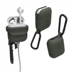 Husa Waterproof Catalyst , army green- Apple AirPods