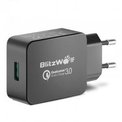 Incarcator de retea BlitzWolf BW-S5 Quick Charge 3.0 18W , negru