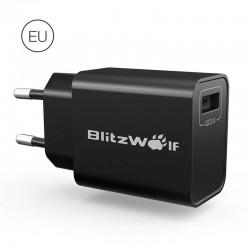 Incarcator retea BlitzWolf BW-S9 QC3.0 18W , negru
