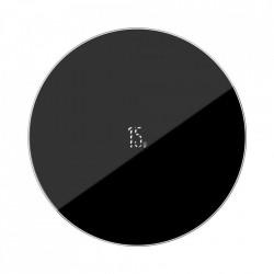 Incarcator wireless Baseus Simple (Updated Version) Qi 15 W black (WXJK-B01)