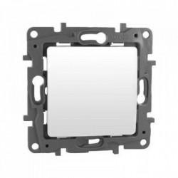 Intrerupator sonerie, alb 6A Legrand Niloe 664507 - 1 modul