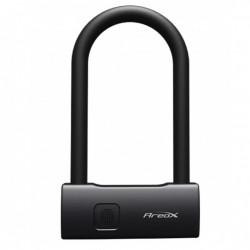 Lacat lung Xiaomi Aerox Smart Fingerprint U Lock, IP65, reincarcabil 300 x 130 x 32,2 mm Negru EU 3018776