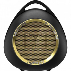 MONSTER Boxa Portabila Wireless Bluetooth Superstar Hotshot, NFC Tap 2 Pair, Cablu Auxiliar 3.5 mm, Carabina, Negru Auriu