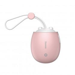 Powerbank Baseus cu functie de incalzire si lampa - roz