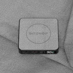 Powerbank BlitzWolf BW-P13, 10000mAh, QC 3.0, PD, 3A, 18W (negru)