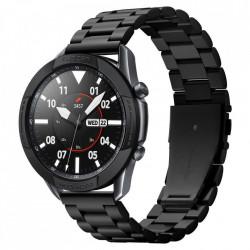 Protectie din aluminiu Spigen Chrono Shield pentru Samsung Galaxy Watch 3 45mm negru