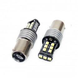 Set 2 x LED CANBUS 15SMD 2835 7,5W 1157 (P21/5W) White 12V/24V