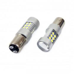 Set 2 x LED CANBUS 24SMD 3030 1157 (P21/5W) White 12V/24V