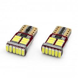 Set 2 x LED CANBUS 5SMD 5730 T10 (W5W) White