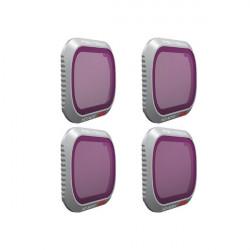 Set 4x filtru PGYTECH HD-ND8 / HD-ND16 / HD-ND32 / HD-ND64 pentru DJI Mavic 2 Pro (P-HAH-031)