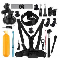 Set de 20 de accesorii Puluz pentru camere de sport PKT18