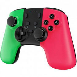 STOGA Controller Wireless Pro Game For SWH, Turbo & Dual Shock, Motion Funtion, Green / Pink