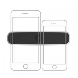 Suport Auto Magnetic Pentru Telefon, Baseus Double Clip, argintiu