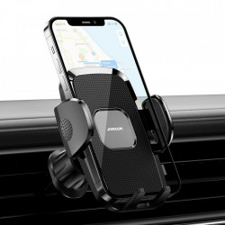 Suport auto pentru telefon , prindere pe bord brat lung, Joyroom black (JR-ZS259)