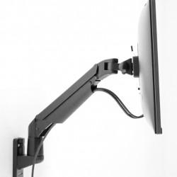 Suport Monitor LCD/LED Gas Lift Multibrackets 9369 + adaptor de perete MB-1350, Negru, min. 2 - max. 10 kg