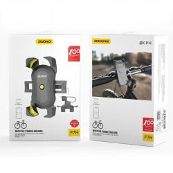 Suport telefon pentru bicicleta Dudao 360 negru (negru F7H)