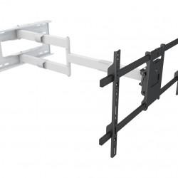 "Suport TV perete Multibrackets 6874, Long Reach Arm 1010mm, 42""-75"", max 40 Kg, Alb"