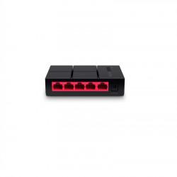 Switch Mercusys Desktop 10/100/1000 Mbps cu 5 porturi, MS105G