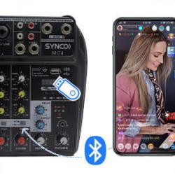 Synco MC4 Audio Mixer