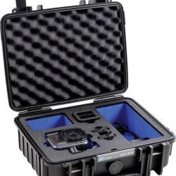 Valiza B&W tip 1000 pentru GoPro 8 negru
