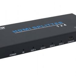 1x4 Splitter HDMI 2.0 UltraHD, EVOCONNECT HDV-B14IH, 18Gbps