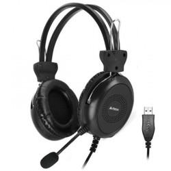 A4Tech Headphones HU-30 Stereo USB Black