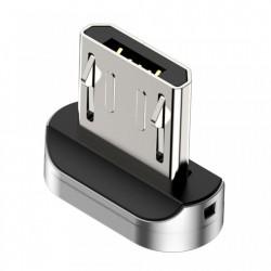 Adaptor din zinc pentru cablu magnetic Micro-USB , Baseus, negru (CAMXC-E)