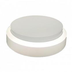 Aplica LED bat de exterior IP44 Rotunda Fi190, 12W=75W, 6400K, lumina rece