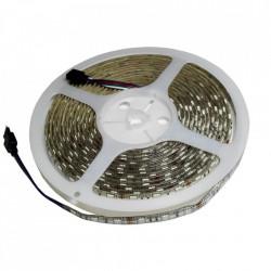 Banda LED RGB, IP20, 12V, 14.4W/M, 60 LED/M, 5050 - rola 5 m